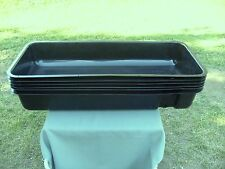 """New !!!  6 pcs  35 1/4"""" Long x 15 1/4"""" wide Hydroponic Growing Trays With Lids"""