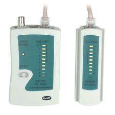 Tester ethernet per RJ11 RJ45 RJ12 BNC TIA568A/B 10 Base-T MT7051