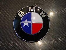 CUSTOM TEXAS STATE FLAG BMW EMBLEM OVERLAYS STICKERS - FITS EVERY BMW MODEL!