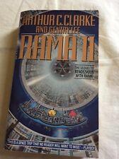 Rama II, Arthur C.Clarke and Gentry Lee, very good paperback,1990 Bantam PB