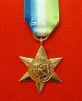 World War II Atlantic Star WW 2 Military Medals