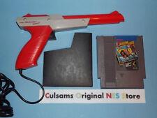ORIGINAL NINTENDO NES ZAPPER GUN CONTROLLER, FREEDOM FORCE, CASE & 30 DAY GUAR
