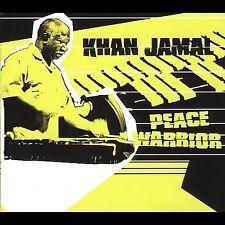 Peace Warrior by Khan Jamal (CD, UPC 806013002228, 2005, Random Chance)e)