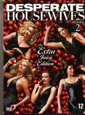 6 DVD box DESPERATE HOUSEWIVES SEASON 2  JUICY EDITION ENGL - REGION 1 USA