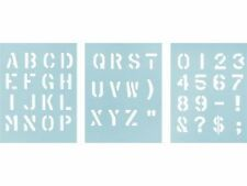 MILITARY STENCIL KIT WITH 1 INCH (25mm) LETTERING