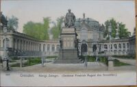 1910 Postcard: Konigl Zwinger- Dresden, Saxony, Germany