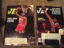 Two Jet magazines 1991 Michael Jordan Magic Johnson NBA