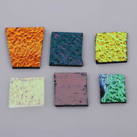 28g Assorted Dichroic Glass Scraps Fusing Glass Fusible Glass Supplies COE90