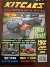 Kit Cars International Jun 1994 Westfield SP, Royale Sabre, Hawk Le Mans