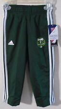 NWT Adidas Portland Timbers Toddler Boys Warm-Up Pants 2T Green MSRP$28