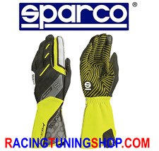 GUANTI KART SPARCO 2017 MOTION GIALLO FLUO TG 7 KARTING GLOVES HANDSCHUHE YELLO