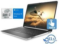 "HP 15.6"" Touchscreen HD Intel Core i3-8130U 3.4GHz 128GB SSD 8GB RAM DVD Win 10"