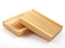 NEW Wooden Soap Tray   Soap Dish   Biodegradable Tray