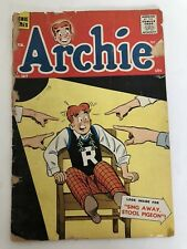 Archie's Comic, #107, 1960, Sing Away Stool Pigeon Fair Condition