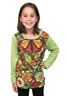 In My Garden - winter long sleeve Girls T shirt - FREE DELIVERY - size 2-12