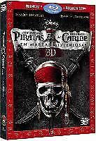 Piratas del Caribe en mareas misteriosas Disney Blu-ray 2D 3D & Region
