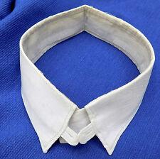 Vintage shirt collar 15 Emerald Luvisca 1930s 1940s IMPERFECT unisex semi stiff