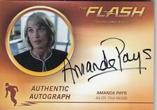 THE FLASH SEASON 2 - APY AMANDA PAYS (DR TINA MCGEE) AUTOGRAPH CARD