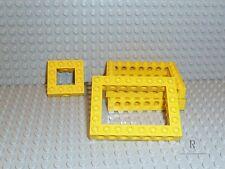 LEGO® Technic 3x Lochbalken 6x8 in gelb 4x4 32532 40345 aus 7900 7344 R521