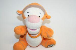 "8"" Baby Tigger with Bib from Walt Disney World Plush Stuffed Animal Sitting"