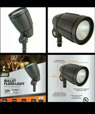 Weatherproof Lighting 12 Watt Outdoor LED Flood Light Garden Spotlight Bronze