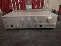 Vintage Technics Stereo Integrated DC Amplifier SU-V707 Amp