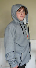 MENS 32 DEGREE HEAT FULL ZIP HOODIE~SIZE LARGE~COLOR IS HEATHER GRAY~