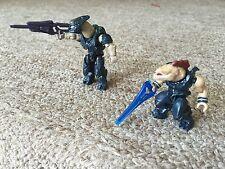 Halo Mega Bloks Covenant Weapons Pack Figures - Jackal & Elite CNH22