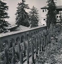 GRENADE c. 1950 - Le Généralife Jeux d'Eau Jardin Espagne - Div 11851