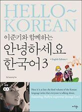[LEE JUN KI] Learning Korean [HELLO KOREAN Vol.3] BOOK DVD (English Ver.) Hangul