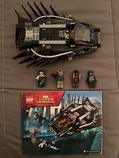 Lego Marvel Super Heroes 76100 Royal Talon Fighter Attack Black Panther Comple