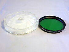Canon Genuine 55mm Green 1 (11) Lens Filter with Case Made in USA 6108024