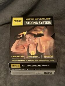 TRX - Strong System Suspension Trainer Black/Yellow Exercise Strength Building