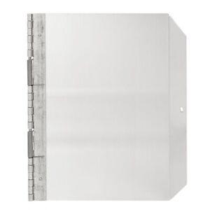 """Aluminum Kennel Door. Size Small (9"""" x 12"""")"""