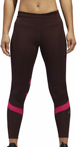 adidas How We Do Womens 7/8 Long Running Tights - Red
