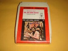 "CARTOUCHE 8 TRACKS PISTES STEREO / THE JOE CUBA SEXTET ""BUSTIN OUT"" / SEALED"