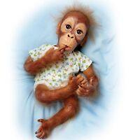 Baby Pongo Ashton Drake Orangutan Doll by Simon Laurens 16 Inches