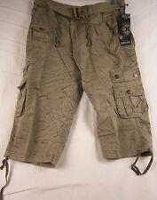 Xray Men's Industrial Shorts 34 Khaki #559N L945