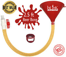 Beer Bong Drink Funnel Tube by bLinK for College Party & Holiday events 》☆Gift☆《