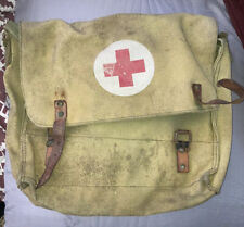 vintage military medical bag