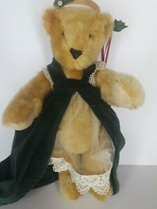Vermont Teddy Bear Mohair 1995 Artist Signed Limited Edition of 200 Christmas