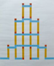 MAX BILL 1983 Composition HAND SIGNED NUMBERED 49/50 SERIGRAPH SWISS ARTIST