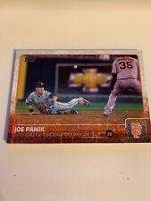 2015 Topps Series 2 #449 Joe Panik San Francisco Giants HL