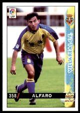 Mundicromo Las fichas de la Liga 98 99 Alfaro Villareal No. 358