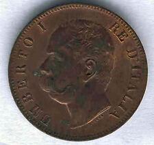 Italia 10 Centesimi Umberto 1º 1893 B @ Senza Circolare @