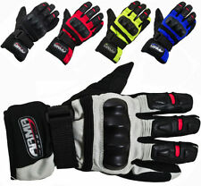 ARMR Moto Motorcycle Cowhide Leather Exact Gloves