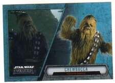 2016 Topps Star Wars Evolution Trading Card #55 Chewbacca Kashyyyk Warrior