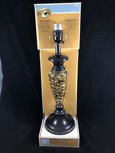 Table Lamp Oil Rubbed Bronze & Faux Marble