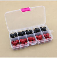 10 Compartments Plastic Box Jewelry Bead Storage Container Craft Organizer