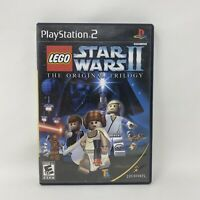 LEGO Star Wars II: The Original Trilogy (Sony PlayStation 2, 2006) Complete PS2